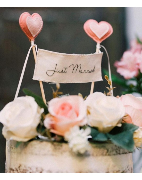 Topo de Bolo [Just Married]