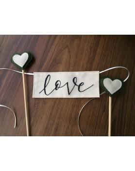 Topo de Bolo [Love]